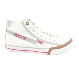 Baskets pour hommes Big Star 174080 blanches