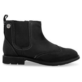 Chaussures isothermes à hauteur élevée 4682 noir