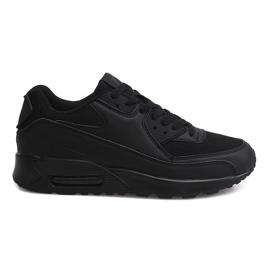 Sport Sneakers Trainers 6631-10 Noir