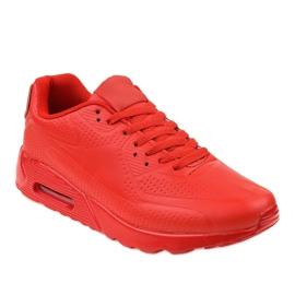Chaussures de sport pour hommes rouges