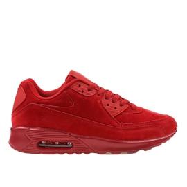 Chaussures de sport pour hommes rouges 55109-2