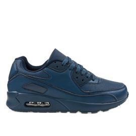 A939-3 chaussures de sport bleu marine