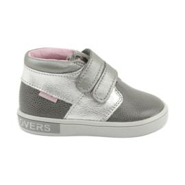 Gris Chaussures à scratch Mazurek 1355