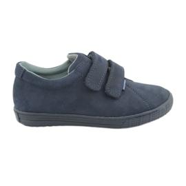 Chaussures garçon Velcro Mazurek 268 bleu marine