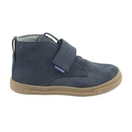 Chaussures à scratch Mazurek 106 bleu marine