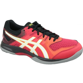 Chaussures de volleyball Asics Gel-Rocket 9 M 1071A030-600 multicolore rouge