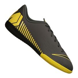 Chaussures d'intérieur Nike Jr VaporX 12 Academy Gs Ic Jr AJ3101-070 gris gris / argent