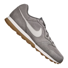 Gris Chaussures Nike Md Runner 2 Suede M AQ9211-002