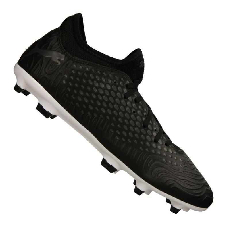 Puma Future 19,4 Fg / Ag M 105545 02 chaussures de football noir noir