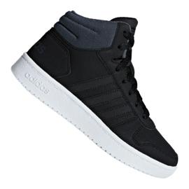 Noir Chaussures Adidas Hoops Mid 2.0 K Jr F35797