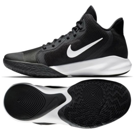 Chaussure de basketball Nike Precision Iii M AQ7495 002 noir