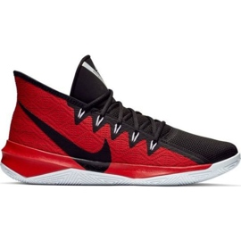 Chaussures Nike Zoom Evidence Iii M AJ5904 001 noires et rouges