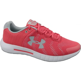 Chaussure de course Under Armour Micro G Pursuit Bp W 3021969-600 rouge