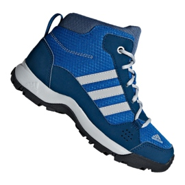 Bleu Adidas Hyperhiker K Jr G27790 chaussures