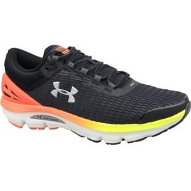 Noir Under Armour Charged Intake 3 M chaussures de course 3021229-001