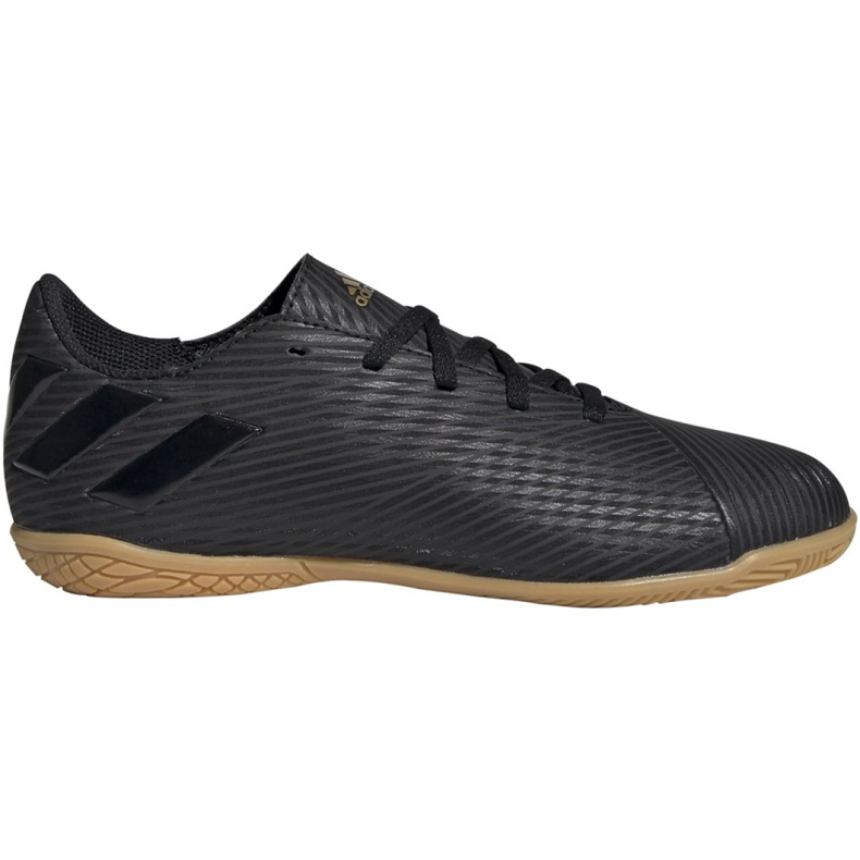 Adidas Nemeziz 19.4 In Jr EG3314 chaussures de football noir noir