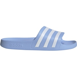 Bleu Adidas Adilette Aqua W EE7346 pantoufles