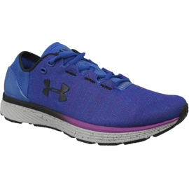 Bleu Under Armour Charged Bandit 3 W chaussures de course 1298664-907