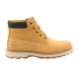 Big Star jaune Chaussures de sport de trekking