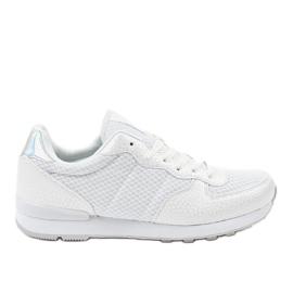 Chaussures de sport blanches pour hommes 5535A-1
