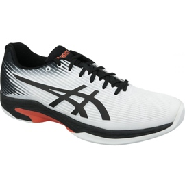 Blanc Chaussures de tennis Asics Solution Speed Ff Indoor M 1041A110-102