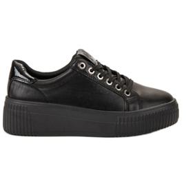 Kylie noir Chaussures de sport sur la plate-forme