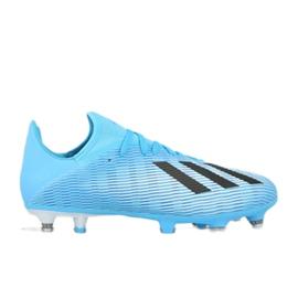 Adidas X 19.3 Sg M F35723 chaussures bleu
