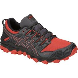 Rouge Chaussures de course Asics Gel-FujiTrabuco 7 M G-TX M 1011A209-600