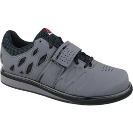 Gris Chaussures d'entraînement Reebok Lifter Pr M BD2631