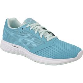 Bleu Chaussures de course Asics Patriot 10 W 1014A025-400