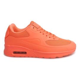 DN9-16 chaussures de course orange