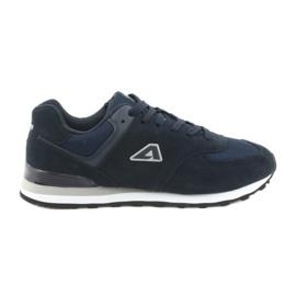Marine Chaussures de sport American Club jogging HA27