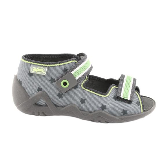 Chaussures enfant jaune Befado 250P086