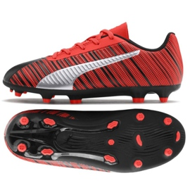 Puma One 5.4 Fg Ag M 105660 01 chaussures rouge