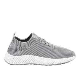 Chaussures de sport grises GM809-26
