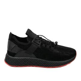 GM807 chaussures de sport pour hommes noirs
