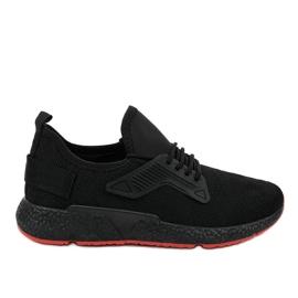 Chaussures de sport à lacets WB800 noires