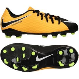 Nike Hypervenom Phelon Iii Fg Jr 852595 801 jaune chaussures