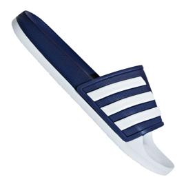 ADIDAS ADILETTE DOUCHE Tongs de Piscine Chaussures Sandale Blanc Noir F34770