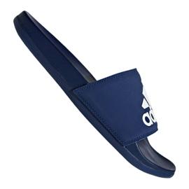 Bleu Adidas Pantoufles Adilette Comfort Plus M B44870