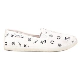 Pantoufles de marin VICES blanc