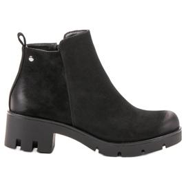 Noir Chaussures à talons confortables VINCEZA