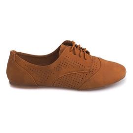 Chaussures Jazz Ajourées Basse 219 Chameau brun