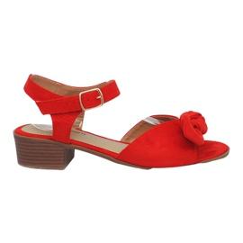 Sandales à talons hauts Noemia Rouge