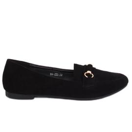 Mocassins Femme Noir 99-259 Noir