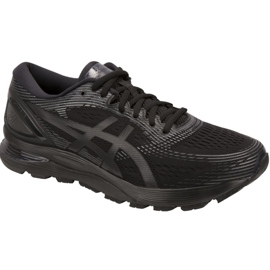 Noir Chaussures de course Asics Gel-Nimbus 21 M 1011A169-004