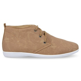 Brun Chaussures élégantes hautes 3569 camel