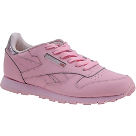 Chaussures Reebok Classic Leather Metallic Jr BD5898 rose
