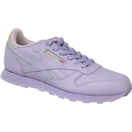 Reebok Classic Leather Jr BD5543 chaussures pourpre