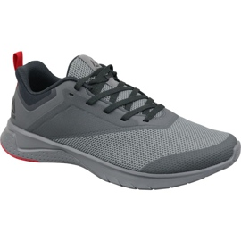 Gris Chaussures de course Reebok Print Lite Rush 2 M CN6213